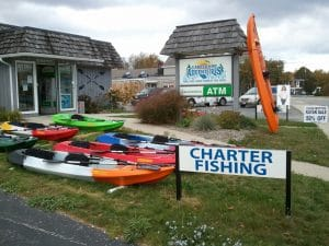 fishing supplies store in Door County