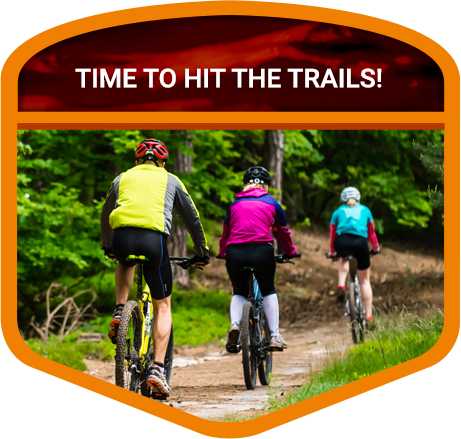 biking Door County trails