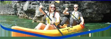 door county tandem kayak rental tour