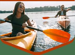 kayak rental in door county