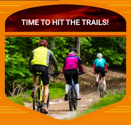 biking Door County trails