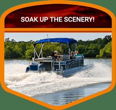 boating in Door County