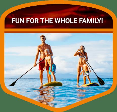 paddle boarding in Door County