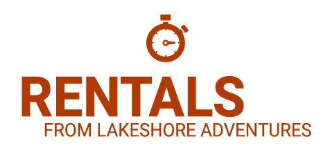 rentals from lakeshore adventures