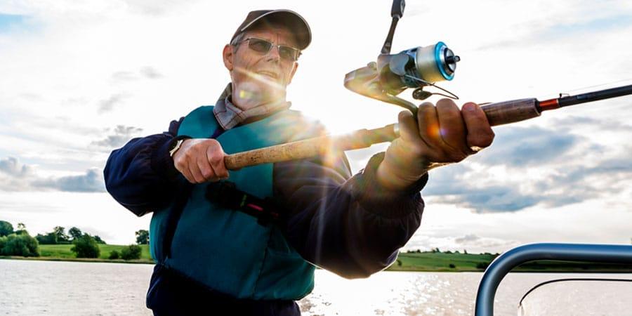 charter fishing trip in door county
