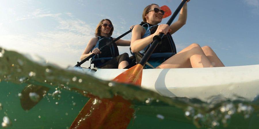kayak tours and rentals in door county
